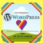 wordpress tips de http error