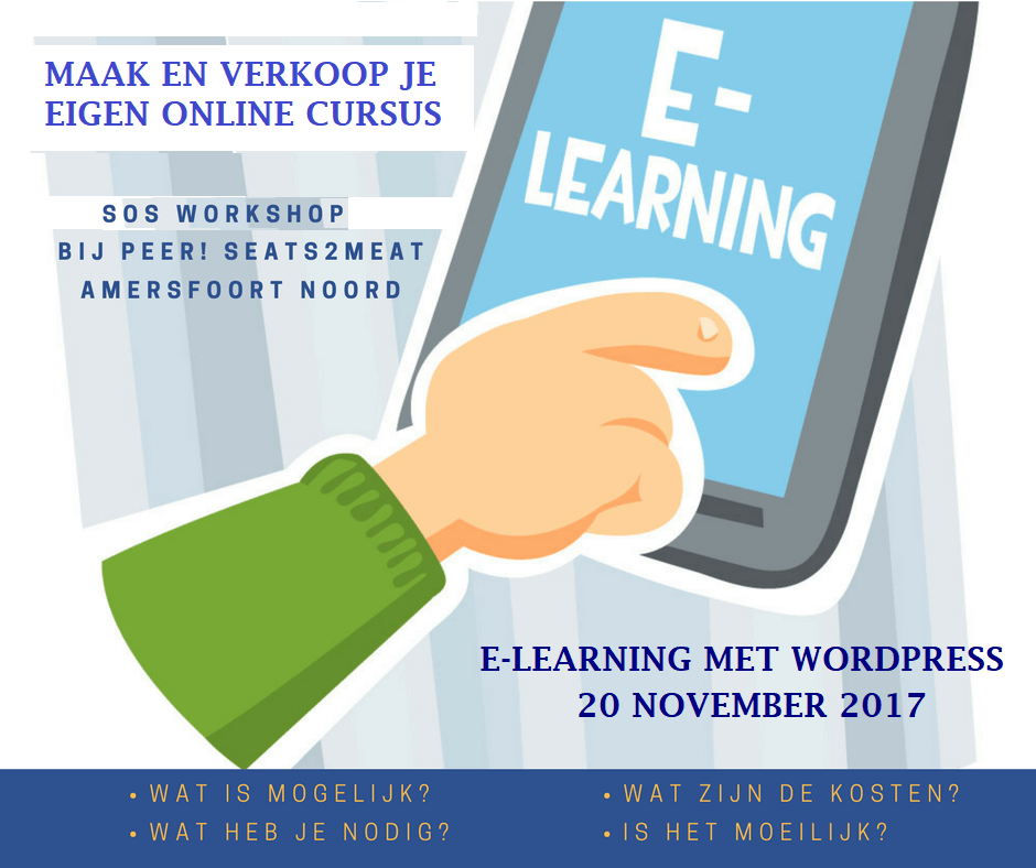 WORDPRESS E-LEARNING WORKSHOP ILLUSTRATIE