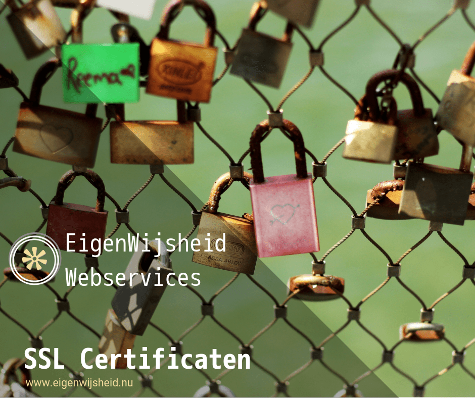 wordpress ssl groen hangslot