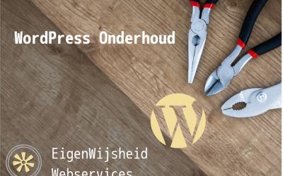WordPress Onderhoud