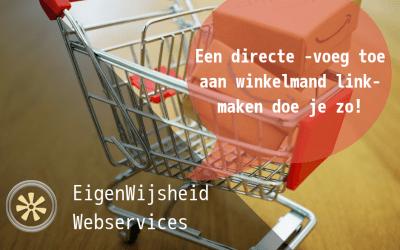 Maak een directe 'voeg toe aan winkelmand' link voor in je blog of pagina